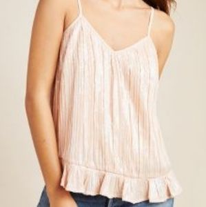 NWT Anthropologie Beaded Cami